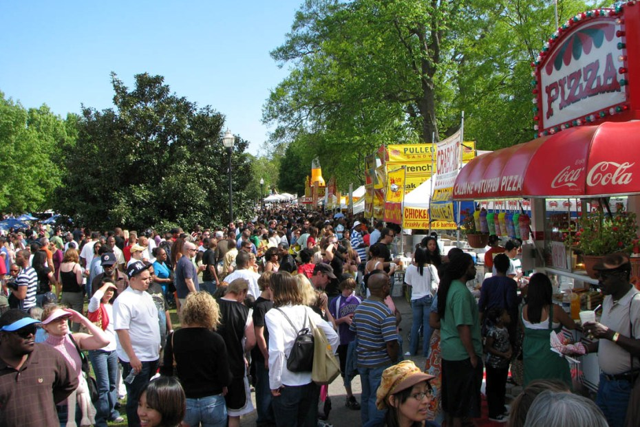 Arts, Crafts and Food Vendors   Georgia Peach Festival