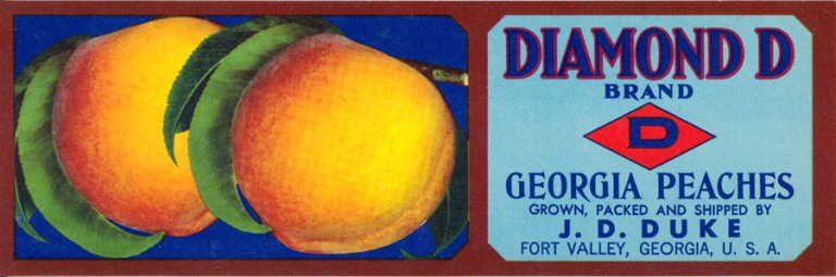 Peach Labels | Georgia Peach Festival